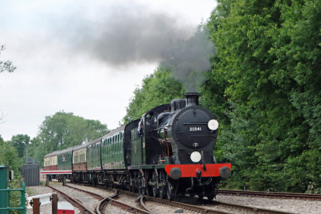 30541 arrives at East Grinstead - Brian Lacey - 17 June 2015