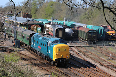 55019 at Horsted Keynes - Tony Sullivan - 18 April 2015