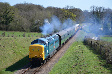 55019 at Holywell - Andrew Crampton - 18 April 2015