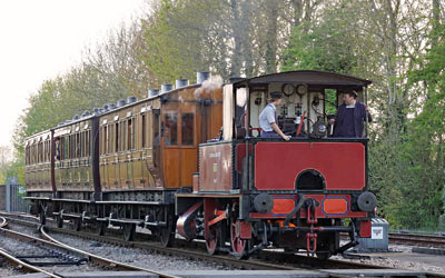 Baxter arrives at East Grinstead - Brian Lacey - 3 May 2015