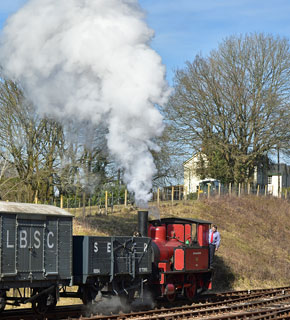 Baxter shunting - Brian Lacey - 7 March 2015