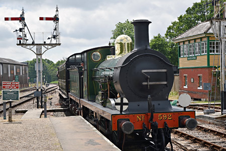 C-class arrives at Horsted Keynes - Brian Lacey - 13 June 2015