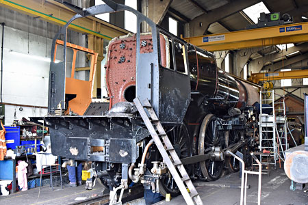 Camelot's boiler back in frames - Brian Lacey - 23 May 2015