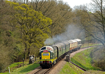 D9009 at Waterworks - Derek Hayward - 17 April 2015
