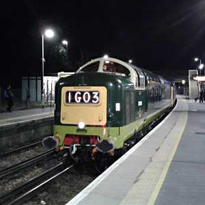Deltics at East Grinstead - Deborah Salmon - 14 April 2015