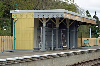 Progress with East Grinstead Canopy - Brian Lacey - 22 April 2015