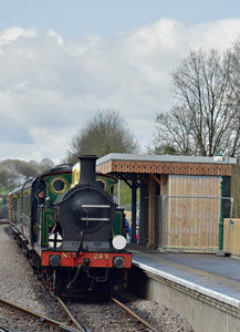 H-class at East Grinstead - Brian Lacey - 11 April 2015
