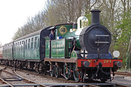 H-class arriving at East Grinstead - Brian Lacey - 22 April 2015