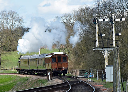 H-class leaving Sheffield Park - Brian Lacey - 11 April 2015
