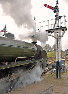 S15 at Horsted Keynes - Brian Lacey - 4 April 2015