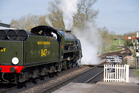 S15 at Sheffield Park - John Sandys - 23 April 2015