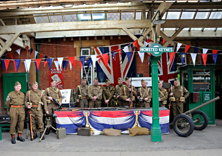 Home Guard at Horsted Keynes - Derek Hayward - 9 May 2015