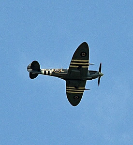 Spitfire over Sheffield Park - Brian Lacey - 6 June 2015