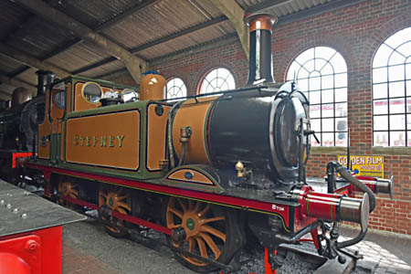Stepney on display in the shed at Sheffield Park - Brian Lacey - 20 June 2015