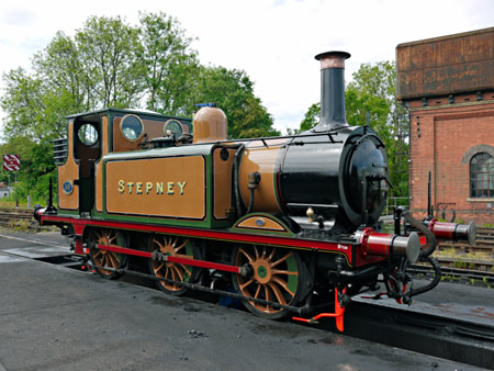Stepney has been repainted - John Sandys - 4 June 2015