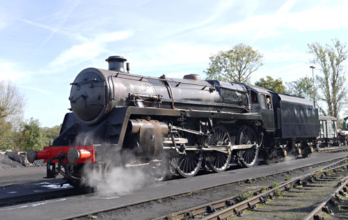 73082 'Camelot' after the successful steam test - Julian Heinemann - 29 September 2015