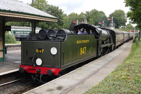 S15 arrives from East Grinstead - John Sandys - 25 August 2015
