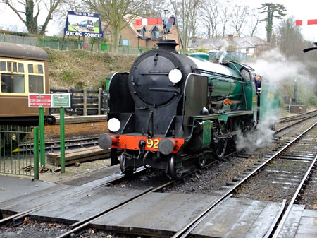 'Cheltenham' at the Mid Hants Railway - Keith Duke - February 2015