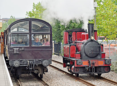 Baxter with Observation Car at East Grinstead - Brian Lacey - 30 August 2015