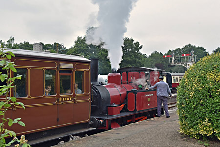 Baxter Special at Horsted Keynes - Brian Lacey - 30 August 2015