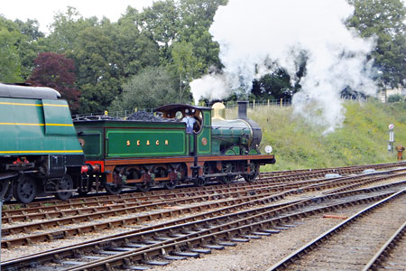 C-class shunts at Horsted Keyens - John Sandys - 27 August 2015