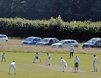Cricket match - Derek Hayward - 22 August 2015