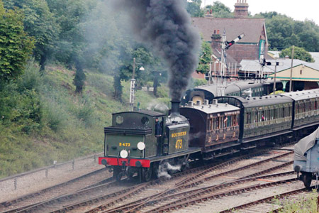 E4 departing Horsted Keynes - Tony Sullivan - 6 August 2015