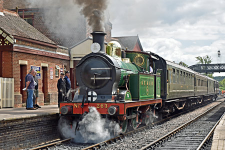 H-class departs from Sheffield Park - Brian Lacey - 30 July 2015