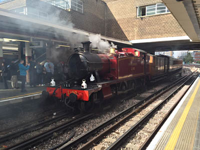 L150 with our Met coaches at Harrow on the Hill - Varsha Ratna - 12 September 2015