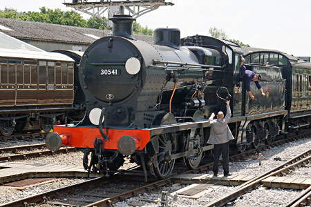 Q-class 30541 arriving at Horsted Keynes - Brian Lacey - 18 July 2015