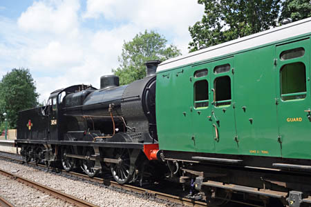 Q-class at East Grinstead - Brian Lacey - 6 July 2015