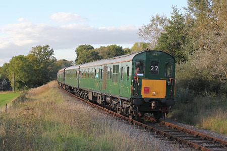 Hastings Diesel on Bluebell - Peter Edwards - 25 September 2015