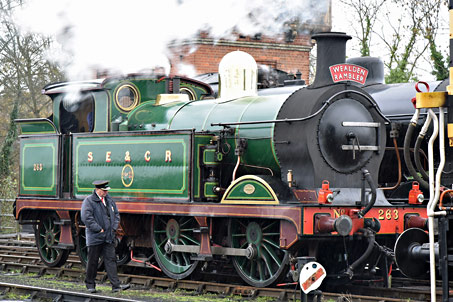 H-class ready for the Wealden Rambler - Brian Lacey - 28 November 2015
