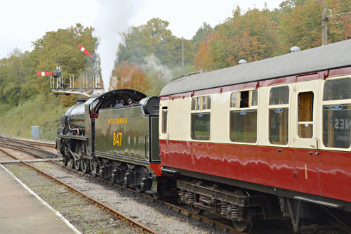 S15 ready to leave Horsted Keynes - Steve Lee - 10 October 2015