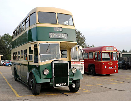 Buses at Sheffield Park - Derek Hayward - 4 October 2015