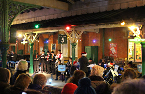 Carol Service at Horsted Keynes - Deiniol Willis - 5 December 2015