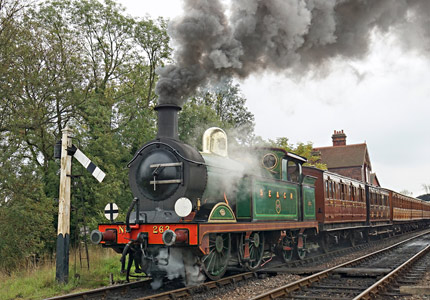 H-class on departure from Sheffield Park - Brian Lacey - 10 October 2015
