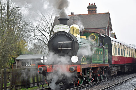 H-class at Sheffield Park - Brian Lacey - 7 November 2015