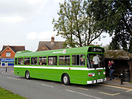 Leyland National at Turners Hill - Derek Hayward - 4 October 2015