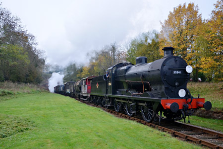 Q-class with the goods at West Hoathly - Andrew Crampton - 31 October 2015