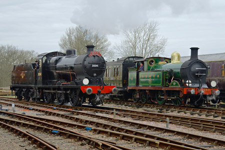 Q and H at Horsted Keynes - Steve Lee - 19 December 2015