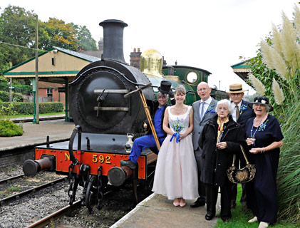 Mike and Miranda's wedding at Horsted Keynes - Derek Hayward - 10 October 2015