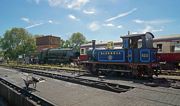323 and 847 at Sheffield Park - Brian Lacey - 16 July 2016