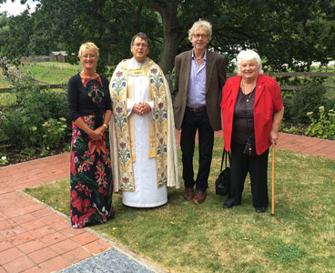 Father John with Holden family members - Robert Hayward - 28 August 2016