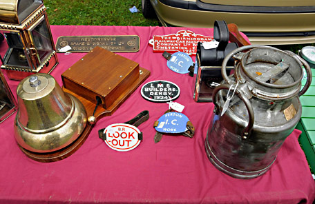 Car Boot section stall - Derek Hayward - 30 July 2016