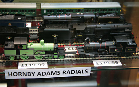 Hornby Adams Radials in the shop at Sheffield Park - John Sandys - 12 July 2016