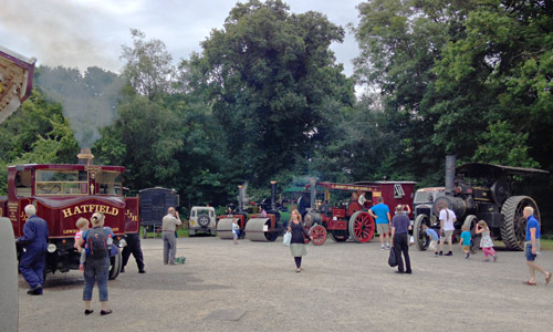 Steam Rollers and Traction Engines at Vintage Transport Weekend - Richard Salmon - 13 August 2016