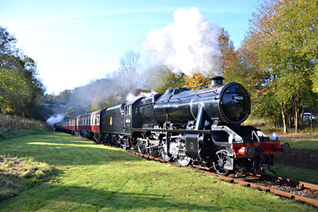 8F leaving the tunnel - Andrew Crampton - 28 October 2016