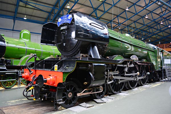 Flying Scotsman at the NRM - Phil Brown - April 2016