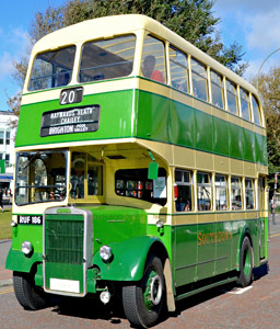 Beadle-bodied Leyland Titan PD2/12 RUF 186 - Steve Lee - 2 October 2016
